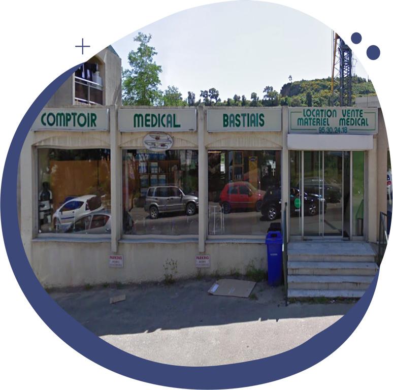 vente, la location et la réparation d'équipements médicalisés à Bastia, en Haute-Corse